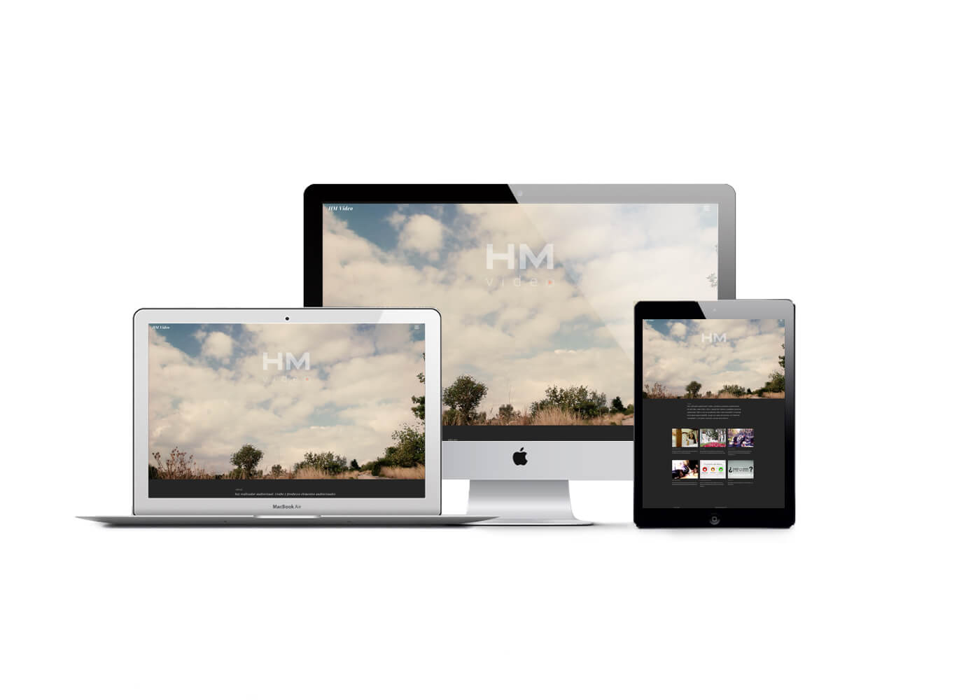 Página web HM Vídeo responsive | The Superway Webs