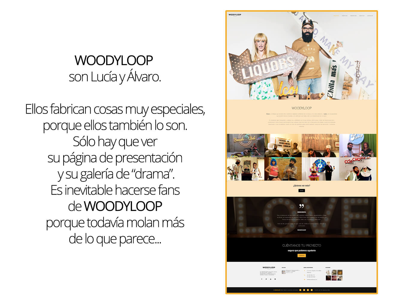 Web Woodyloop Nosotros | The Superway Webs